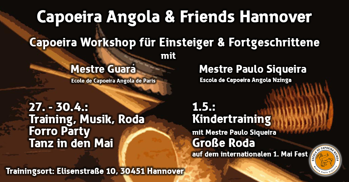 Flyer Angola and Friends
